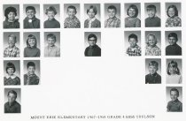 Image of Mt Erie School 1967-1968 4th Grade