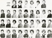 Image of Mt. Erie School, 1962-63, 4th grade, Miss Trulson teacher
