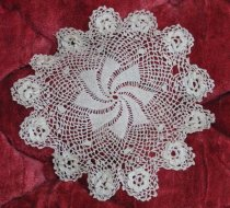 Image of Doily belonged to Emma Trulson