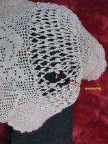 Image of Christening cap - Harold Trulson, unraveling