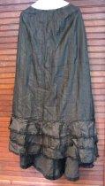 Image of Emma Haroldson's bustle skirt c 1900-1905