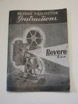 Image of Imstruction book Revere 8mm movie projector