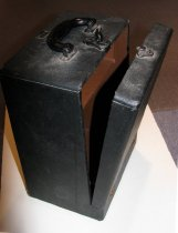Image of 8mm movie projector case REVERE