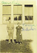 Image of Mr. Rice and Vera Scrimsher Guemes School