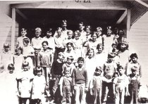 Image of Guemes Island students - 1935