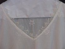 Image of Nightgown belonging to Hanna Wicklund Onas 1920's