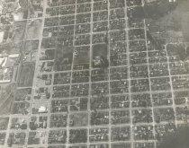 Image of 2010.033.031 - Aerial view of Anacortes, c. 1964