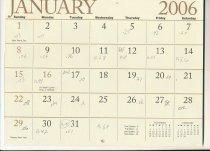 Image of 2010.051.010 - Calendar
