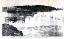 Image of 2011.019.053 - Fish trap in Alexander Bay near Anacortes c. 1903