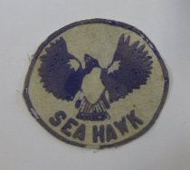 Image of SeaHawk patch belonging to Betty Lowman