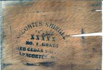 Image of Cedar Shingle from Anacortes Shingle Co. c1941-c1946