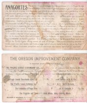 Image of Oregon Improvement Co. Ad