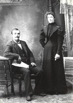 Image of Mr. and Mrs. Philip Wagner - June 5, 1897