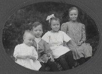 Image of D.I.079 - Clare, Harold, Azilda, and Grace Burgett