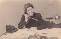Image of Clara Watkinson January 1948