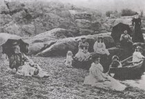 Image of Ladies at Ros Point 1890's