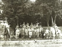 Image of D.III.018 - Fourth of July Celebration with Boy Scouts