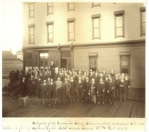 Image of Delegates of the Democratic County Convention 1890