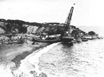 Image of Pile Driver capsized