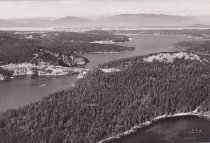 Image of Aerial of Deception Pass and surrounding area