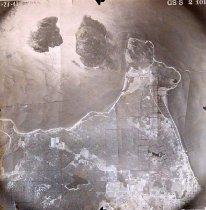 Image of D.XIX.007.003 - Aerial Little Cranberry Lake, Washington Park, Burrows Island, Allan Island