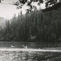Image of Canoe in Baker Lake