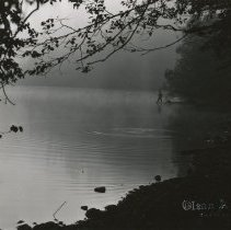 Image of Baker Lake in early morning