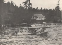 Image of Seaplane in channel