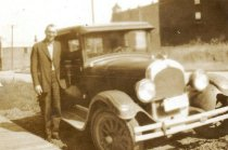 Image of Man with Model T Ford