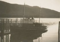 Image of D.XX.003.097 - Unknown tugboat at dock