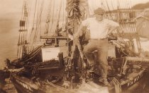 Image of On deck of the WAWONA