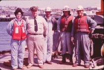 Image of Captain Norm Ronning with crew