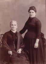 Image of Mrs. Danrawkenburg (sp?) and Miss H. Barber