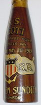 Image of S S LEOTI Christening bottle