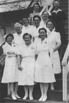 Image of nurses at Poor Farm