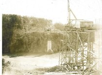 Image of Deception Pass Bridge construction