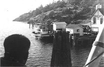 Image of Orcas Island ferry landing