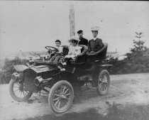 Image of Wilder family in Cadillac
