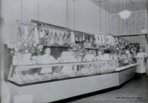 Image of WF 1054 - Dalstead Meat Market interior