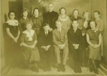 Image of WF 1308 - 1935 Zion Lutheran Church confirmation class