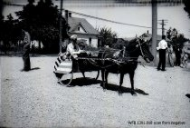 Image of Children's Parade - horse-drawn cart