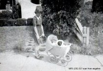 "Image of Children's Parade - ""Best Doll Buggy"" entry"