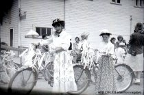 Image of Kiddies' Parade - girls in old-fashioned apparel
