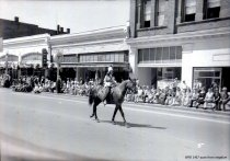 Image of WF 1467 - 1941 Marineer Parade - girl on horse
