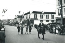 Image of Marineer Parade c. 1938 - Grand Marshall