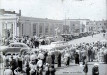 Image of 1947 Marineer Parade - Jaycees float