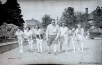 Image of 1939 Marineer Pageant Pirate Girls & Ray Galyean