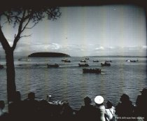 Image of 1949 Marineer Pageant - military landing craft