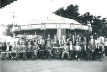 Image of Lions Club carousel - 1937 Marineer Pageant