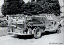 Image of WF 1842 - Fire Department ladder truck
